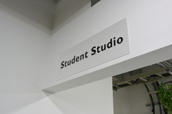 学生居室です(パネルは自作)