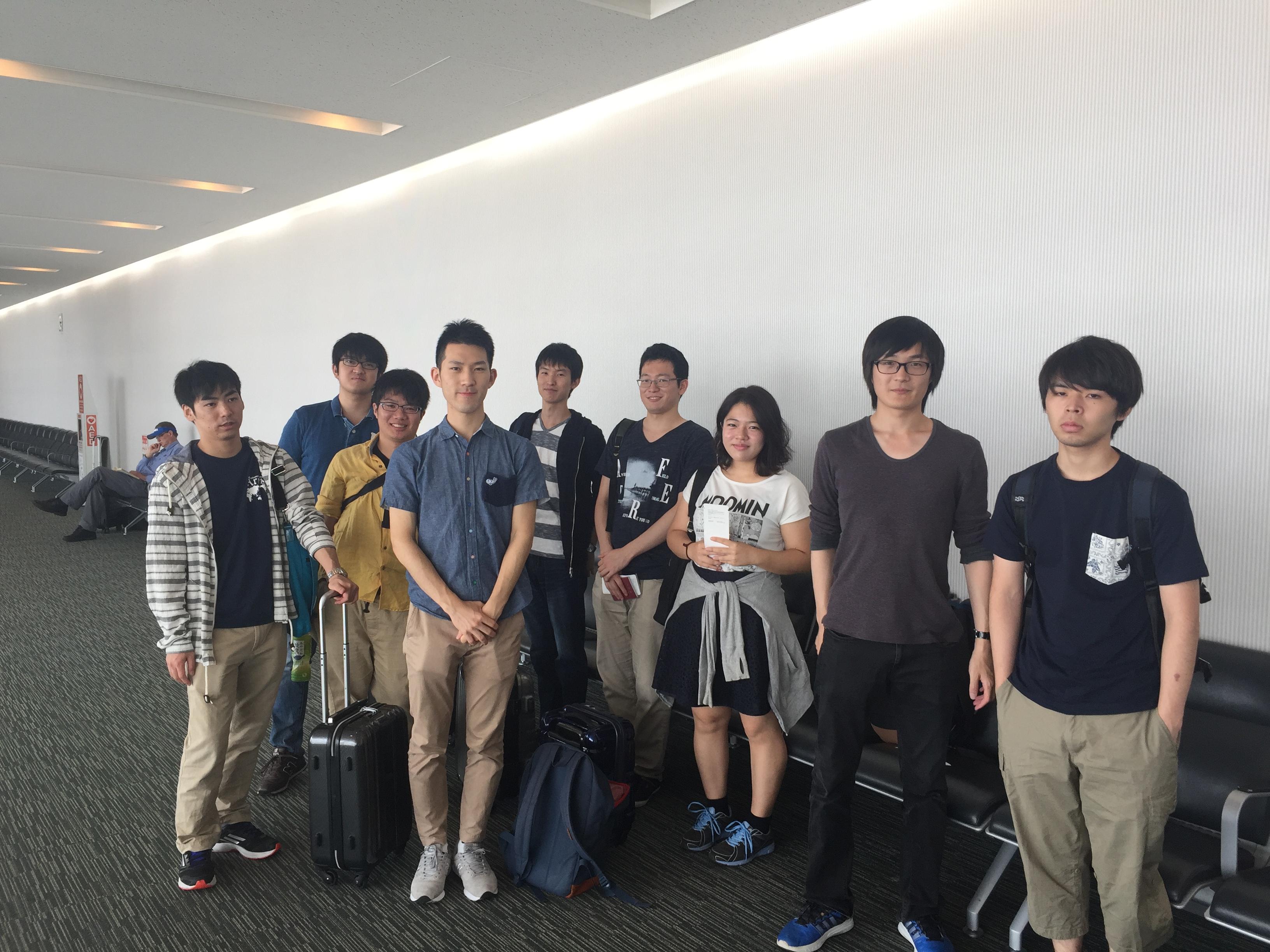 ゼミ合宿で香港に出発です(2016)