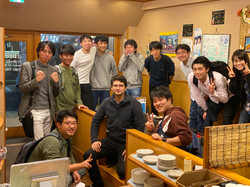 Welcome party of Alexandre-san