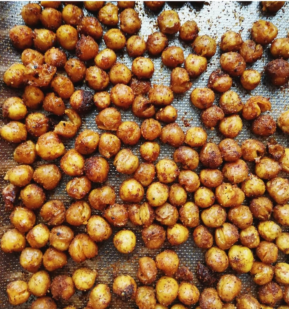 Crispy Paprika Chickpeas