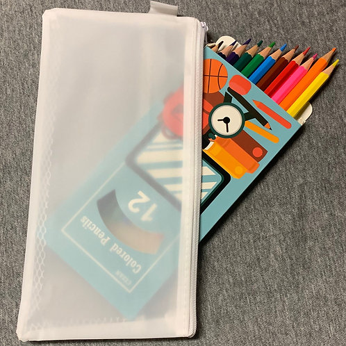 Colored Pencil with Case