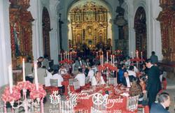 CENA DE GALA EN QUITO 2002