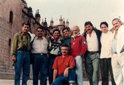 FUNDADORES DE AREGALA EN CUSCO 1992