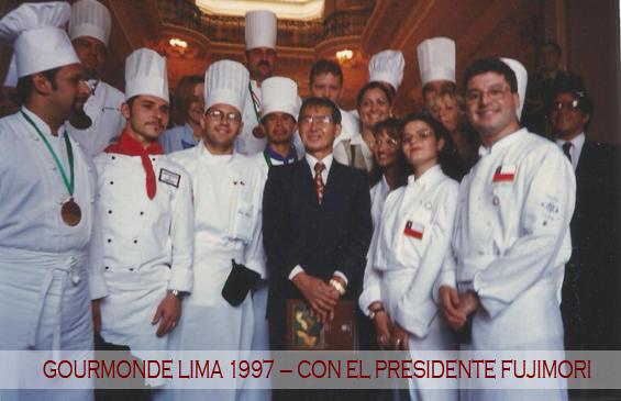 CON EX PRESIDENTE DEL PERU 1997