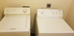 Washer & Dryer available