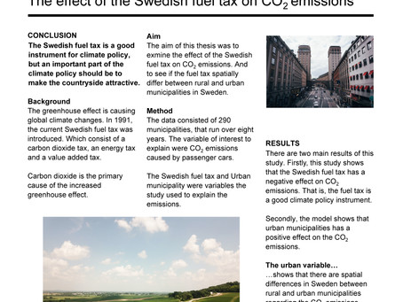 Estimating the effect of fuel taxes on carbon dioxide emissions in Sweden