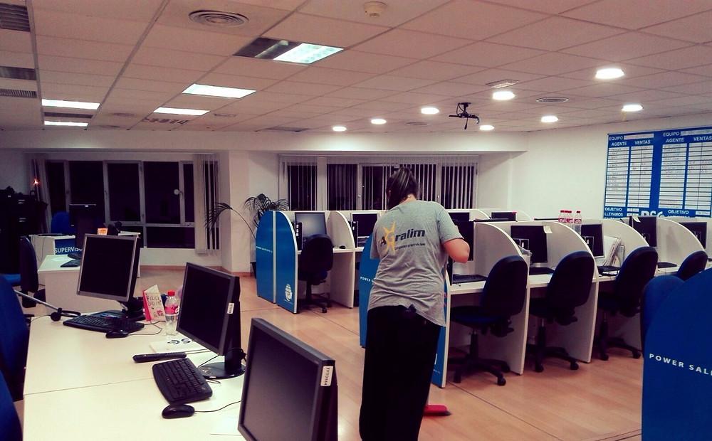 Limpieza de oficinas en Málaga