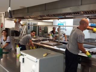 Claves para la limpieza de restaurantes en Málaga