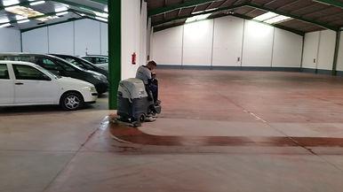 Limpieza de parking en Málaga