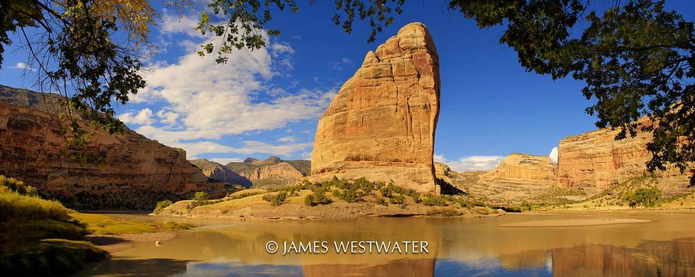 Steamboat Rock, Dinosaur National Mounument, Utah