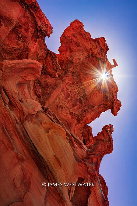 Red Goblin, Little Finland, Gold Butte National Monument, Nevada
