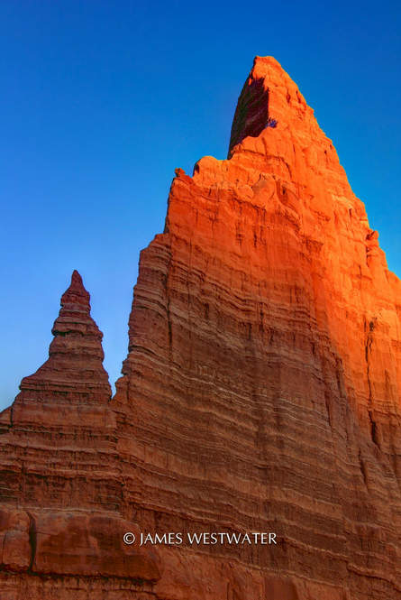 Moon Temple, Cathedral Valley, Capitol Reef National Park, Utah