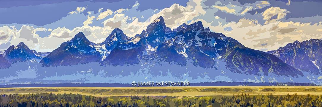 The Grand Tetons, Grand Teton National Park, Wyoming