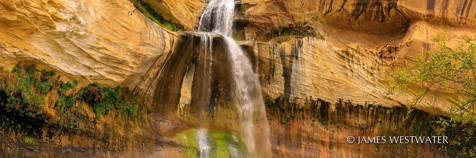 Calf Creek Falls, Panorama, Utah