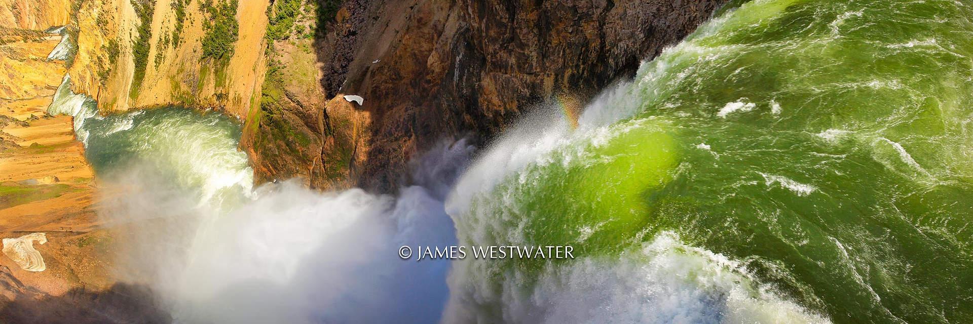 The Raw Power of Nature, Lower Yellowstone Falls, Yellowstone National Park, Wyoming