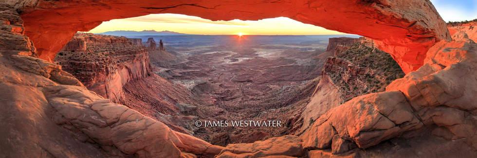 November Dawn, Mesa Arch, Canyonlands National Park, Utah