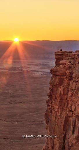 Sharing Nature's Splendor, Green River Overlook, Canyonlands National Park, Utah