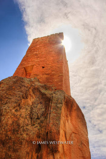Fortress Tower, Holly House, Hovenweep National Monument, Utah