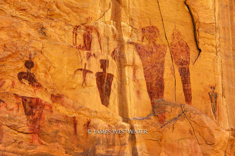 Ancient Figures, Sego Canyon, Utah
