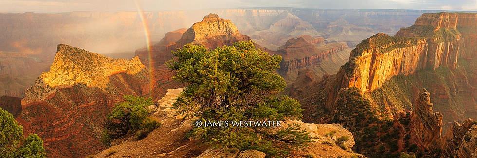 Canyon Rainbow, Grand Canyon National Park, Arizona