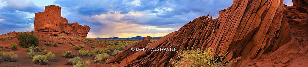 Desert Fortress, Wupatki Natinal Monument, Arizona