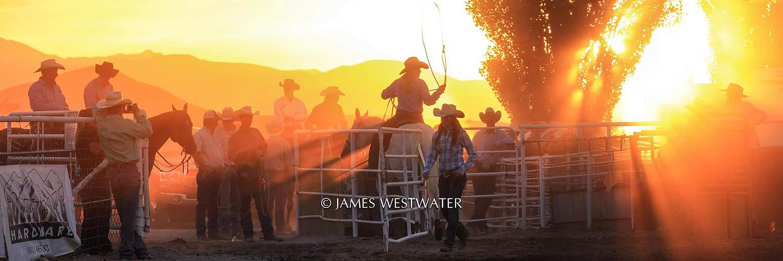 Rodeo Sunset, Santaquin, Utah