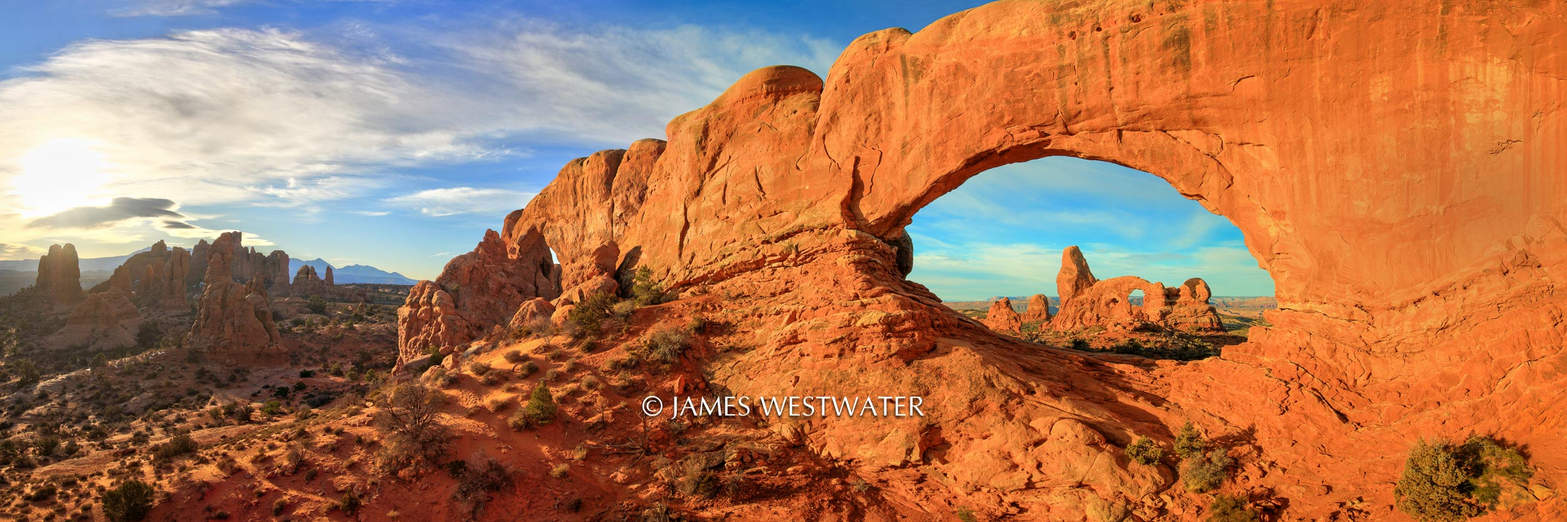 Morning Glory, North Window, Arches National Park, Utah