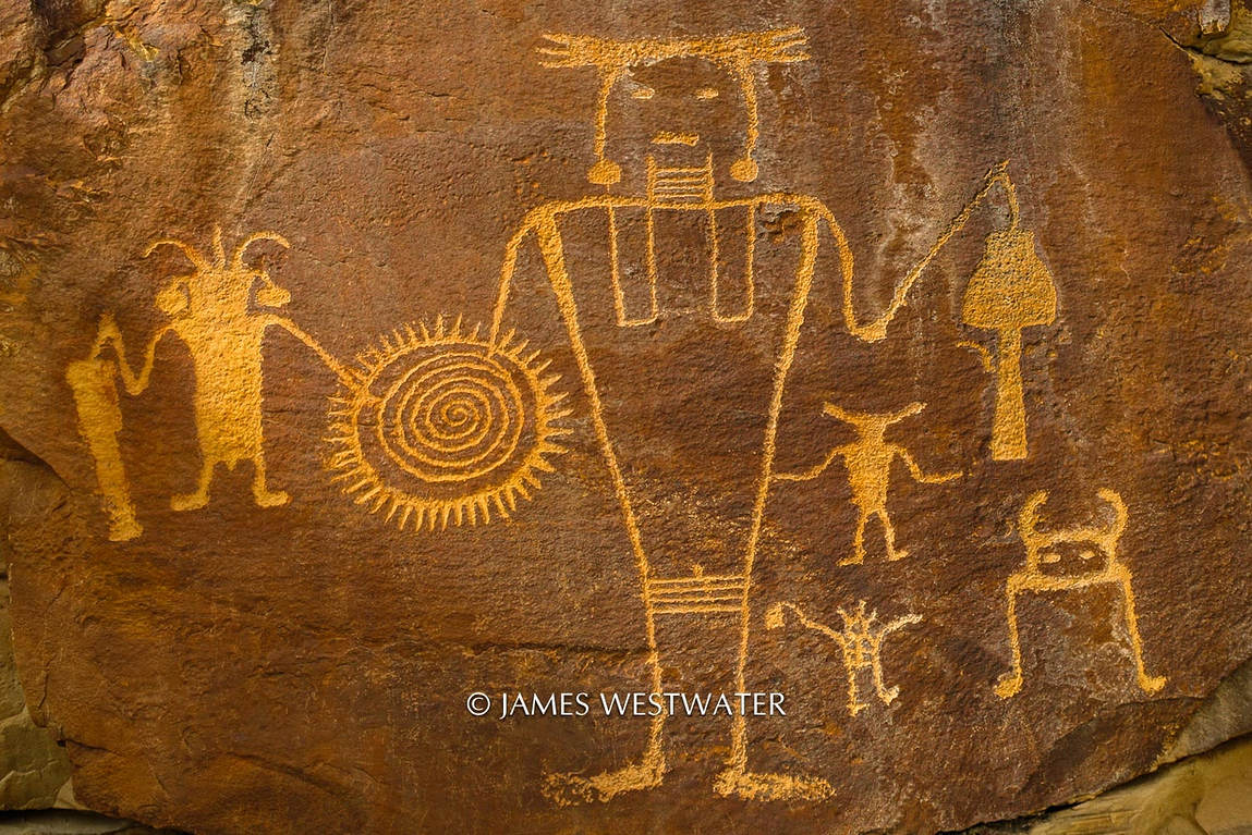 Fusion Petroglyph, Dinosaur National Mounument, Utah