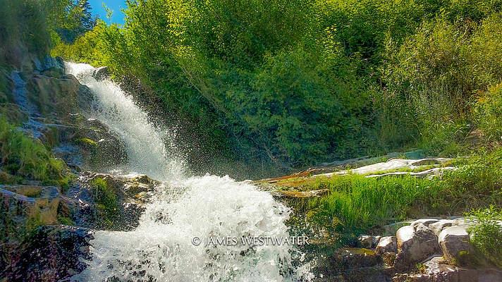 Salt Creek Falls, Nebo Loop, Utah