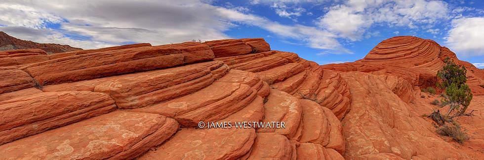 Dune Layers, Snow Canyon State Park, Utah
