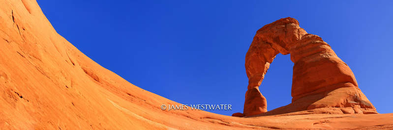 Delicate Arch, Panorama, Arches National Park, Utah