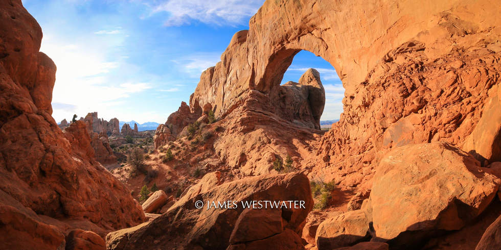 Sharing the Art of Nature, Arches National Park, Utah