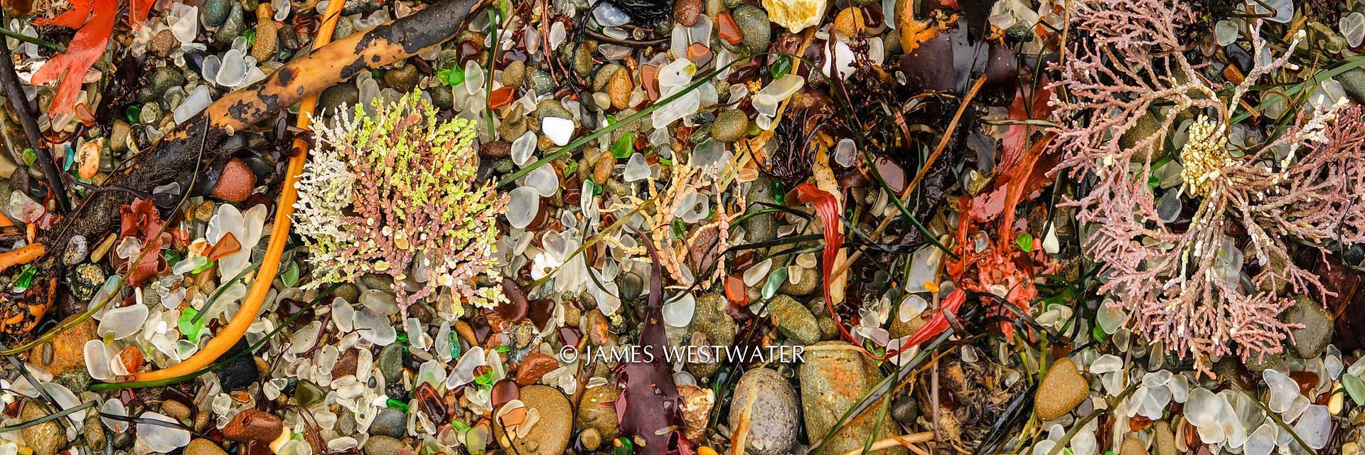 Glass Beach, Mendocino, California