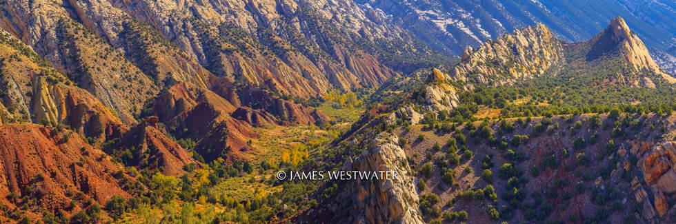 Green River Uplift, Dinosaur National Mounument, Utah