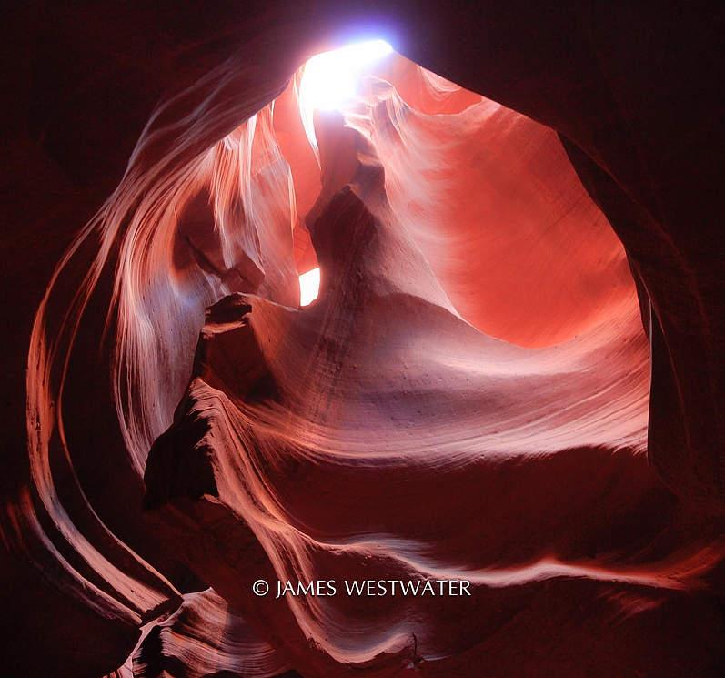 Toward the Light, Antelope Canyon Tribal Park, Arizona