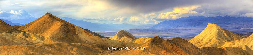 Twenty Mule Team Canyon, Death Valley National Park, California