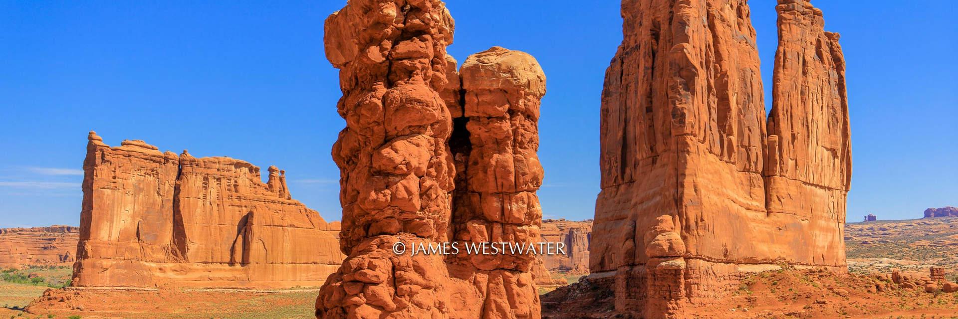 Arches Trio, Arches National Park, Utah
