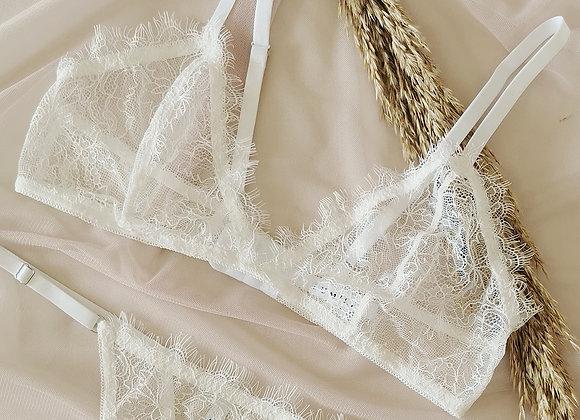 Soft bra Magnolia White