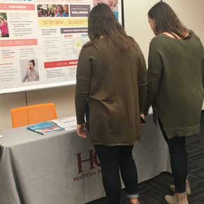 ETWR and UTK SHRM WELLNESS FAIR