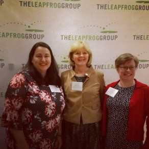 WIGGINS ATTENDS ANNUAL LEAPFROG MEETING IN DC