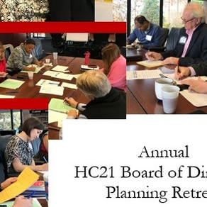 ANNUAL PLANNING RETREAT SCHEDULED
