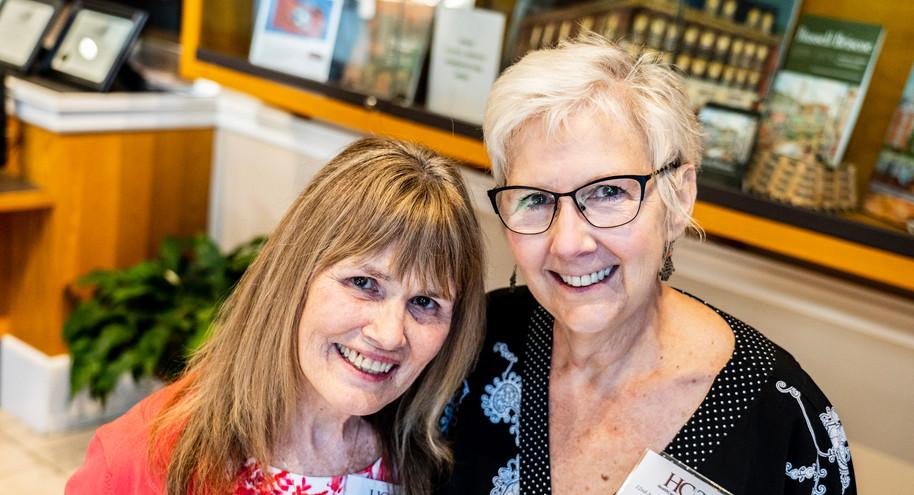 Linda Burnette and Tina Shelby-Kahl