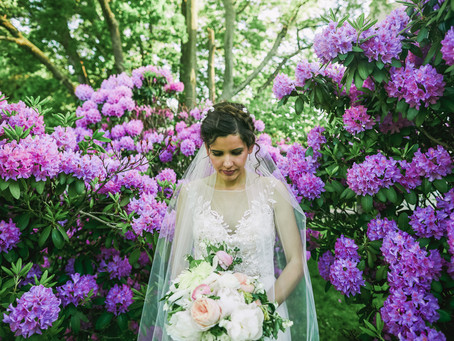 Maggy + Marcus' Botanical Wedding at Snug Harbor