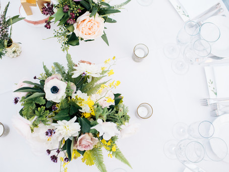 Clementina + Ben's 'I Love All Flowers' Inspired Wedding