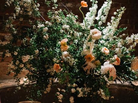 Kim + Jason's Elegant Garden Wedding @ The Foundry