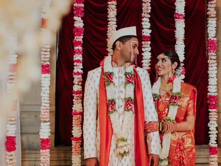 Roohi + Ameya's Jasmine Filled Wedding @The Weylin