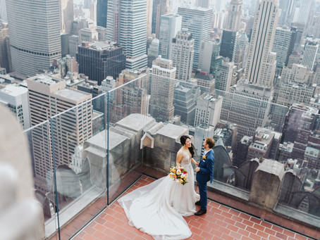 Jenny + Rob's Bright and Colorful Summertime Wedding @ 620 Loft & Garden