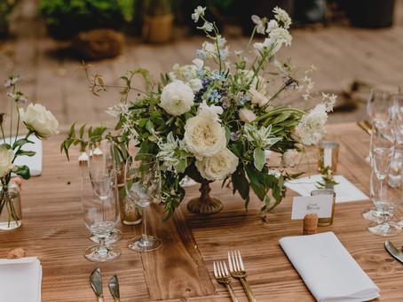 Rachel + David's Overgrown Garden Wedding @The Foundry