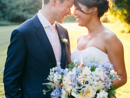 Chison + Henry's Rustic, Pastel Wedding at Mt. Gulian
