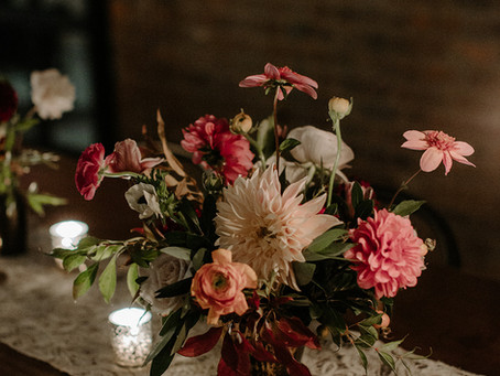 Callie + Bayn's Classic Fall Wedding at the Wythe